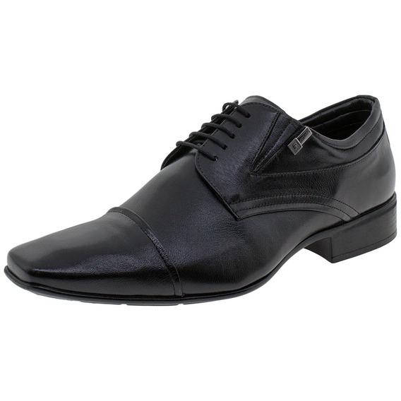 Sapato Masculino Social Manhattan Jota Pe - 40101 Preto 01