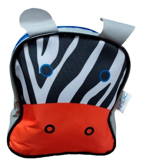Mochila Infantil Animais Bebe Kids Criança Zebra