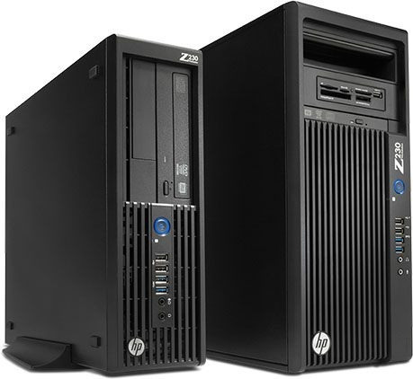 Computador Workstation Hp Z230 Sem Memoria Sem Hd Sem Video