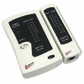 Testador Cabo De Rede Rj45 E Telefone Rj11 Leadership 8000