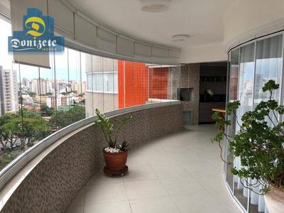 Apartamento Com 3 Dormitórios À Venda, 232 M² Por R$ 1.800.000 - Vila Assunção - Santo André/sp - Ap10020