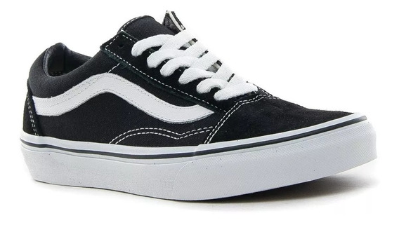 Zapatillas Old Skool Black Vans Originales
