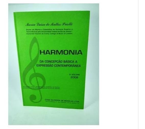 Harmonia Da Concepção Básica A Expressão Contemporânea Vol 2
