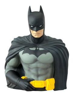 Monogram Batman Bust Bank