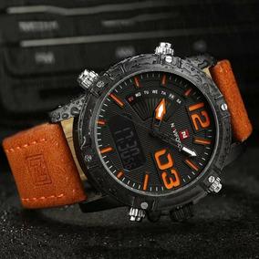 Relógio Naviforce Modelo 9095 Pulseira De Couro Original