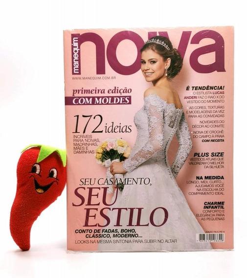 Revista Manequim Noiva - Seu Estilo N° 704a (loja Do Zé)