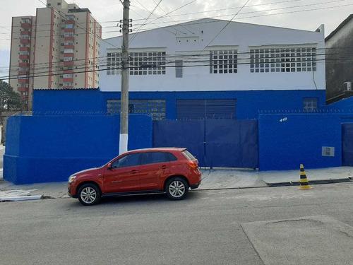 Galpão De Esquina - 640 M2 - Vila Santa Catarina - 50 Kv