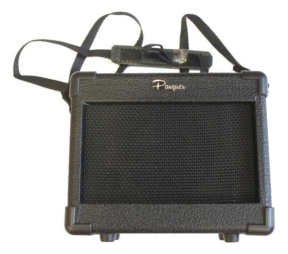 Amplificador Guitarra Electrica Portatil Ga-1 A Pilas O Fnte