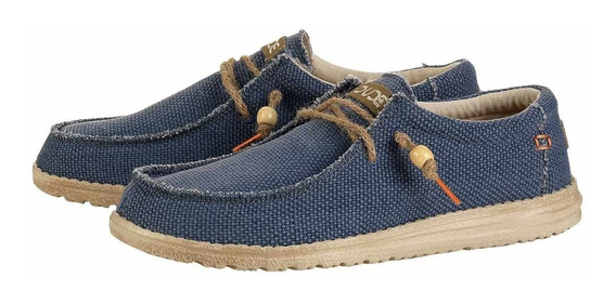 Zonazero Zapatillas Nauticos Hey Dude Wally Braided Hombre
