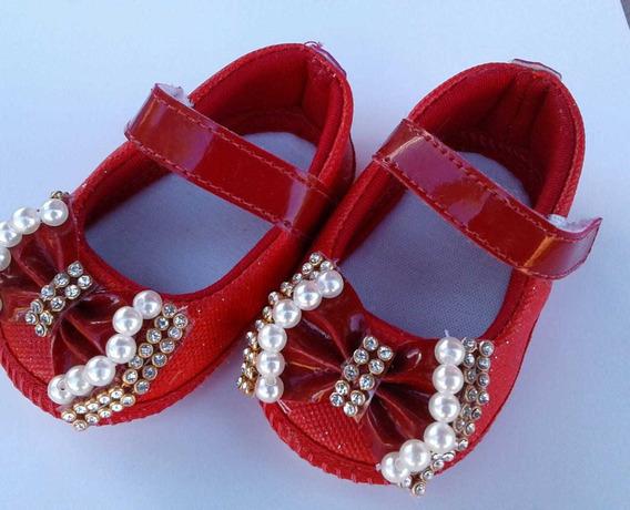 Sapatilha Infantil Feminina Vermelho Promoção
