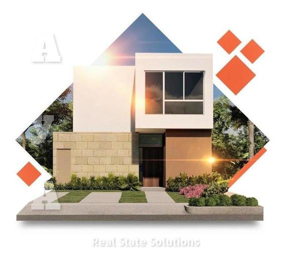 Casa En Pre Venta De 3 Recámaras, Paneles Solares, Avenida Villa Maya, Polígono Sur, Cancún