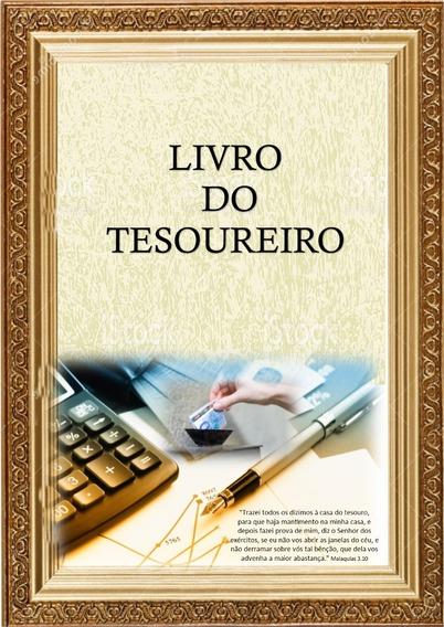 Livro Do Tesoureiro / Caixa Para Igrejas / 50 Folhas