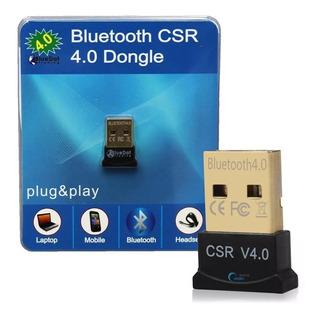 Adaptador Bluetooth Usb 4.0 Audio Pc Parlantes Celular Febo