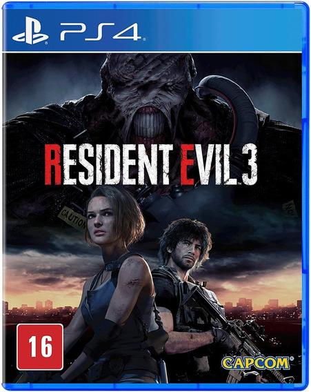 Jogo Ps4 - Resident Evil 3 - Lacrado