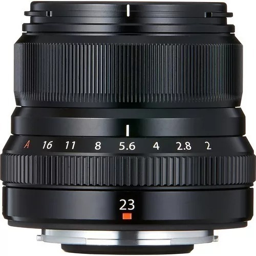 Fujifilm Xf 23mm F/2 R Wr Lens (black) / Lente Fuji 23mm F2r