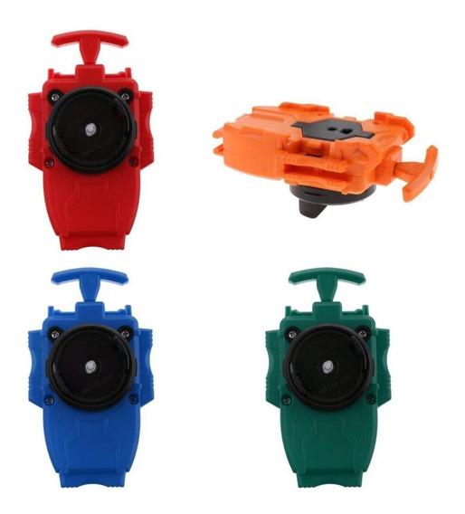 Lanzador De Cadena Plástico 4 Piezas Beyblade 3053 Serie B4