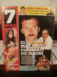 Revista 7 Dias N°9 2006 Palacios Miranda Vanucci Burlando