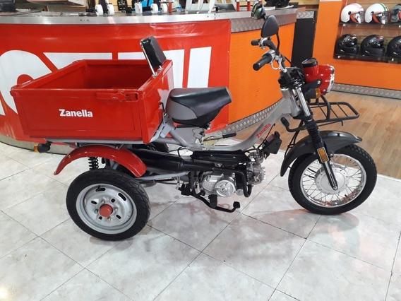 Tricargo Zanella 110 Okm Tamburrino Motos