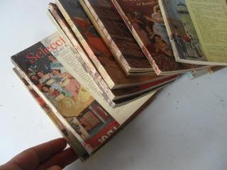 Lote 15 Revistas Selecciones Antigua 1953 Reader Digest