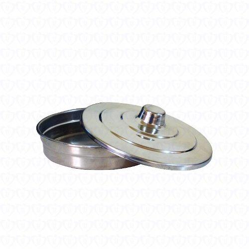 Bandeja De Pao Para Ceia Pequena Aluminio | Ceia Do Senhor