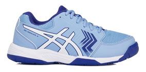 Tênis Asics Gel Dedicate 5 A Azul Claro