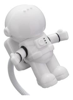 Lámpara Astronauta Escritorio Pc Usb Led Ajustable Original