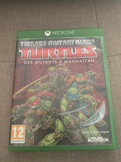 Teenage Mutant Ninja Turtles - Xbox One Mídia Física Raro