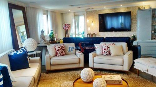 Imagem 1 de 23 de Apartamento Com 3 Dormitórios À Venda, 254 M² Por R$ 1.790.000,00 - Jardim Anália Franco - São Paulo/sp - Ap2088