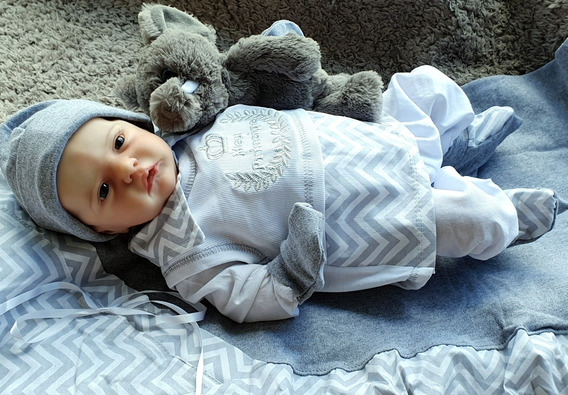Saida Maternidade Roupa Bebe Menino Principe Promocao Luxo