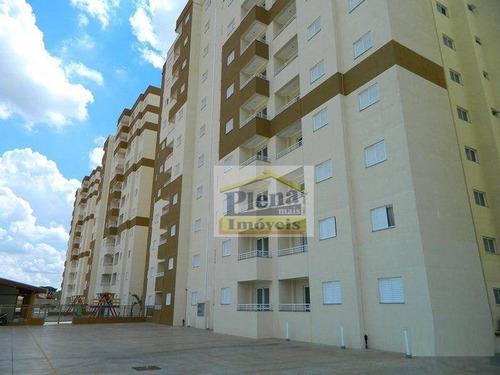 Imagem 1 de 12 de Apartamento À Venda Com 69 M² - Jardim Marajoara - Nova Odessa/sp - Ap0608