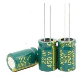 Capacitor Eletrolítico 22uf 450v