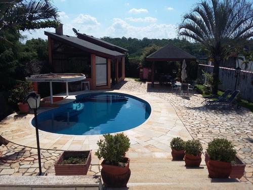 Casa Com 3 Dormitórios À Venda, 470 M² Por R$ 1.650.000,00 - Condomínio Estância Marambaia - Vinhedo/sp - Ca2282