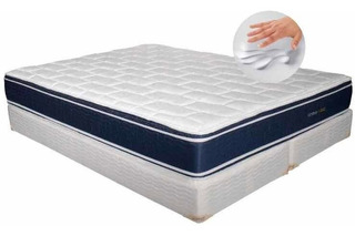 Sommier Inducol 160x200 Nimbus Visco Densidad 35 Kg Pillow
