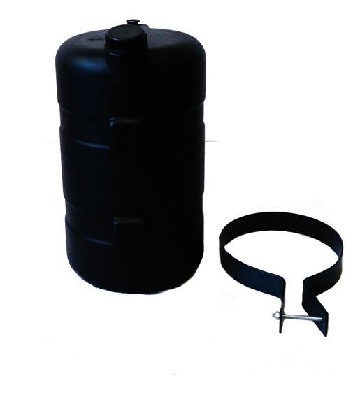 Tanque De Agua Bepo 26 Litros Negro C/soporte Metalico+canil