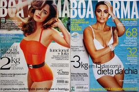 Revista Boa Forma #311 E 322 Fernanda E Juliana Paes