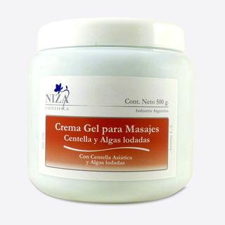 Crema Gel P / Masajes X 500g -centella Y Algas P/p/rof