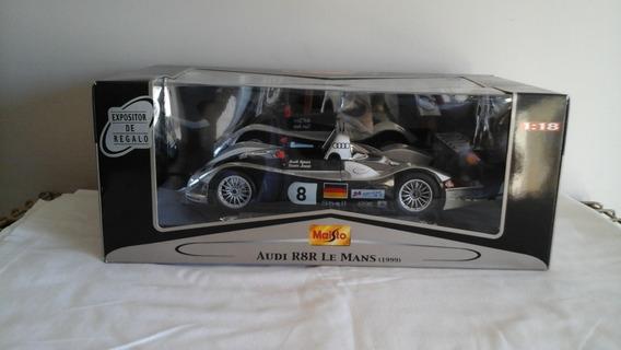 Audi R8r Le Mans Año 1999, Escala 1:18, Por Maisto