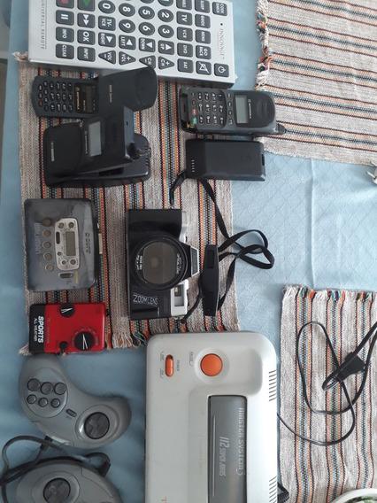 Câmera Antiga Vídeo Gami Aparelhos Cel Bcp Radio Antigo