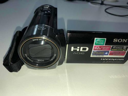 Câmera Digital Modelo Hdr Cx 130 Semi Nova