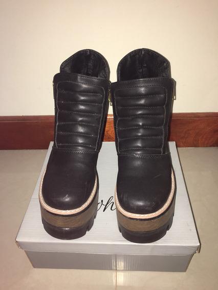 Borcegos/botas Negros