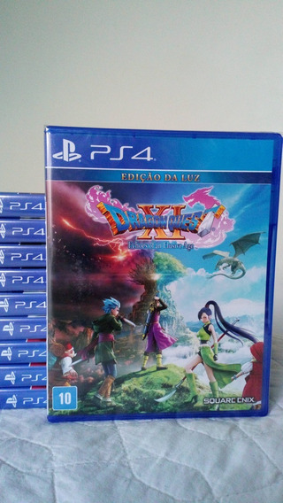 Dragon Quest Xi Echoes Of An Elusive Age Ps4 Mídia Física
