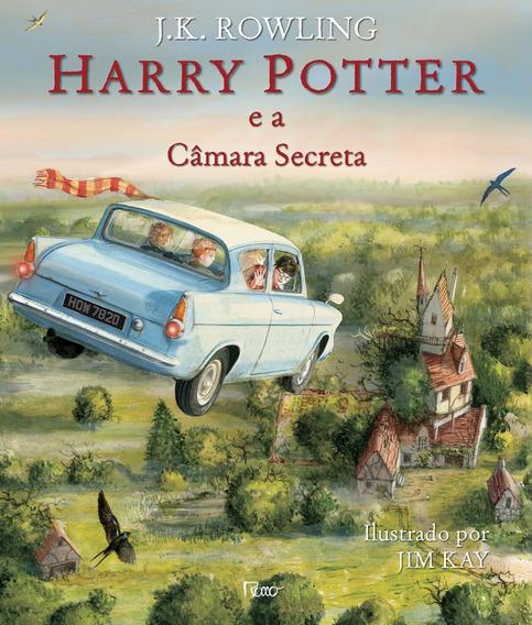 Harry Potter E A Câmara Secreta Livro J. K. Rowling Dura