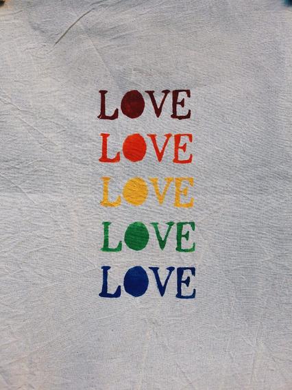 Mochila De Lienzo Harlem Love