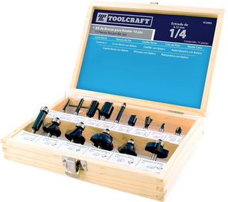Kit De 15 Cuchillas ( Brocas ) Para Router