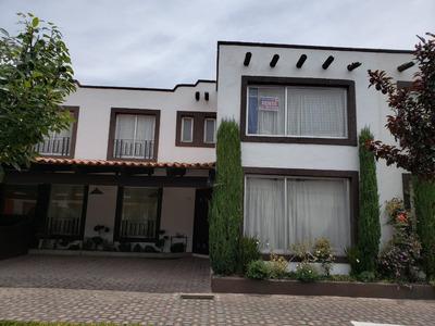 Renta Bonita Casa Muy Cerca De Uvm Y Galerías Metepec