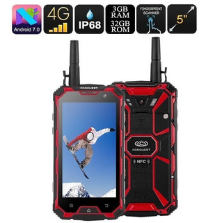 Conquest S8 32gb Smart Octa Core 3gb Ram Walkietalkie Nuevo