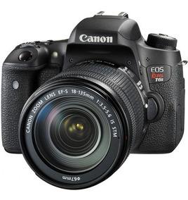 Câmera Canon Rebel T6s Ef-s 18-135mm Is +bolsa+32gb+tripe
