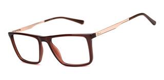 Armação Oculos Ogrife Og 1103-c Masculino Com Lente Sem Grau