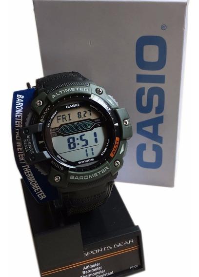 Relogios Masculino Casio Sgw300hb Digital Militar - Lona