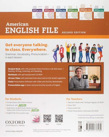 Vender-se Livro De Inglês Avançado American English Files 4